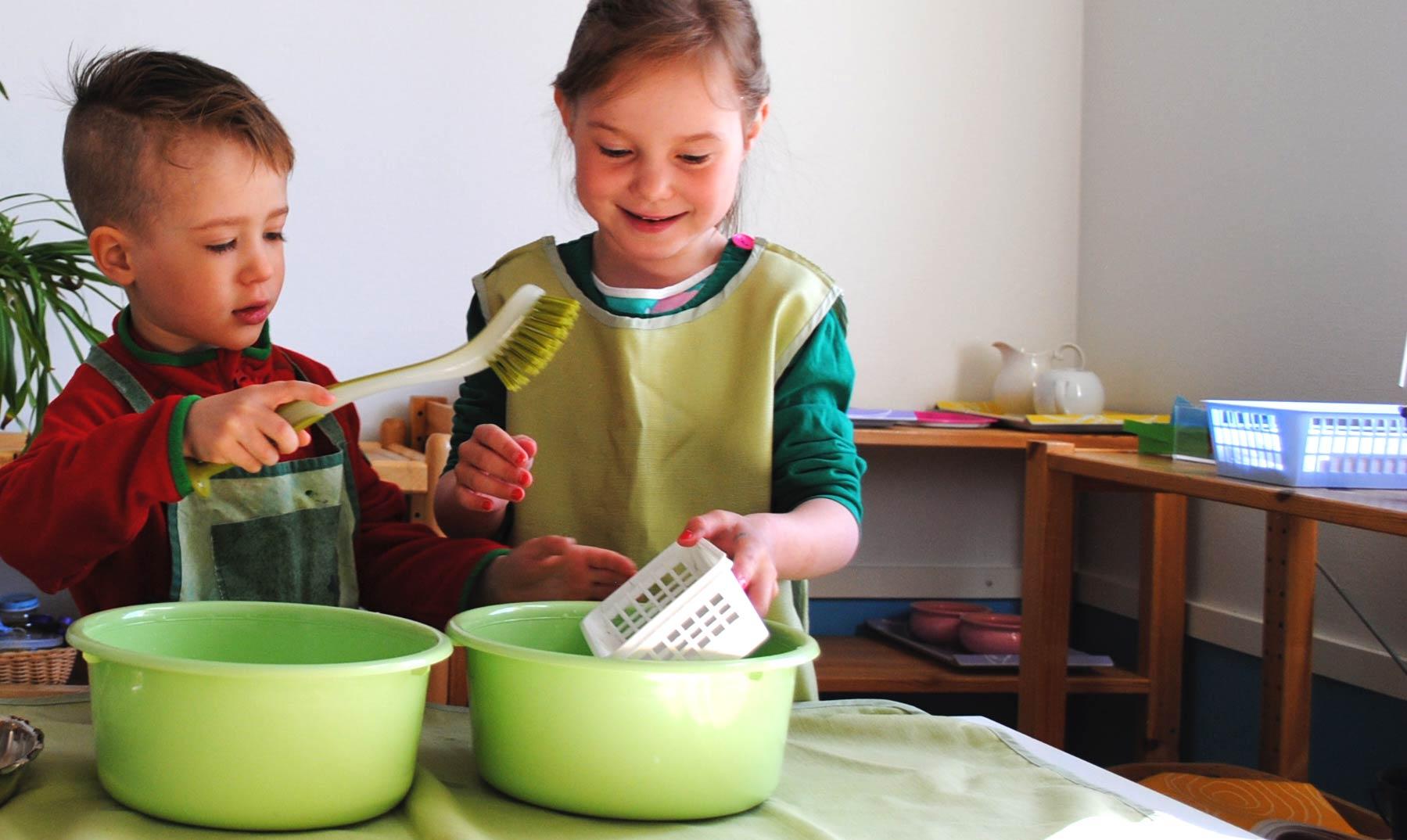 Vantaan Tikkurilassa toimiva Montessoripäiväkoti,